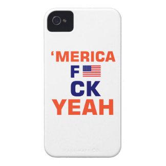 De Merica T-shirts ouais Coques iPhone 4 Case-Mate
