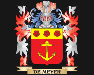 8ae8c0d732c De-Meyer Coat of Arms - Family Crest T-Shirt