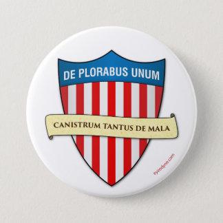 De Plorabus Unum button 3-inch
