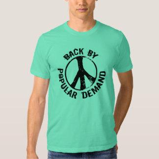 De retour par une demande populaire t shirts