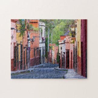 De Sollano Street, San Miguel De Allende Jigsaw Puzzle
