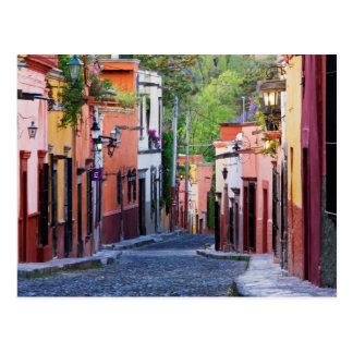 De Sollano Street, San Miguel De Allende Postcard