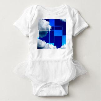 De Stijl Sky Baby Bodysuit
