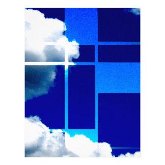 De Stijl Sky Letterhead
