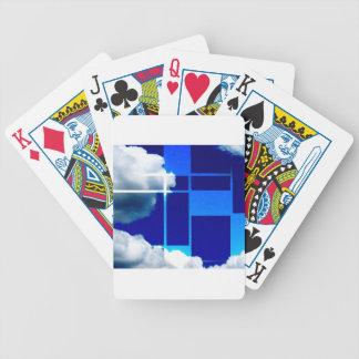 De Stijl Sky Poker Deck