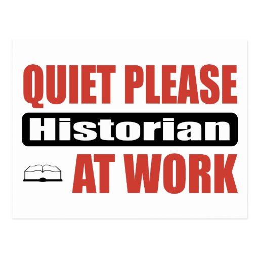 De tranquillité historien svp au travail cartes postales