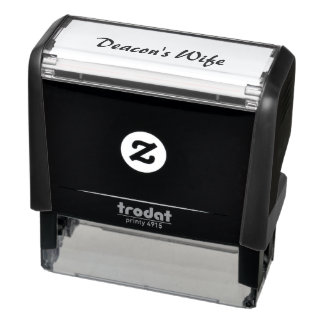 Deacon's Wife Self-inking Stamp