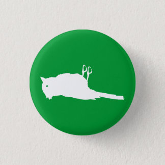 Dead Bird Roadkill Graphic 1 Inch Round Button