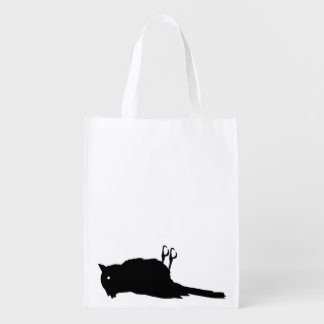 Dead Bird Roadkill Graphic Reusable Grocery Bag