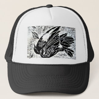 dead bird trucker hat