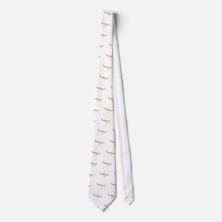 Dead Buffal Scull Drawing Isolated On White Backgr Tie