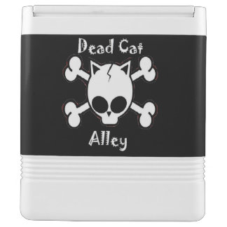 Dead Cat Alley (w/ logo on top) Igloo Can Cooler