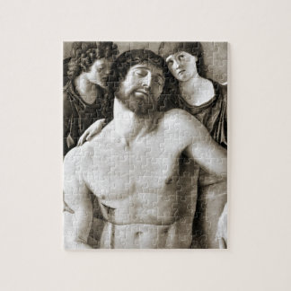 Dead Christ Between Two Angels by Giovanni Bellini Puzzles