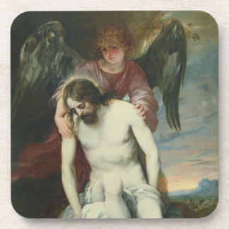 Dead Christ Supported by an Angel, c.1646-52 (oil Coasters