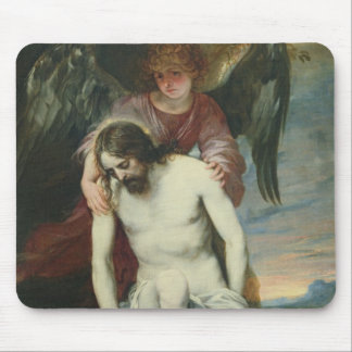 Dead Christ Supported by an Angel, c.1646-52 (oil Mouse Pad