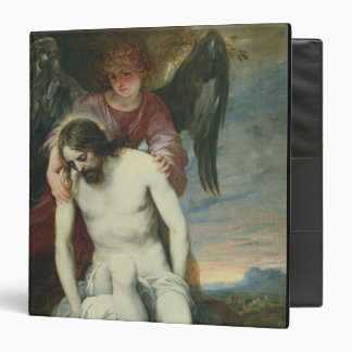 Dead Christ Supported by an Angel, c.1646-52 (oil Vinyl Binder
