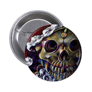 Dead Christmas 2 Inch Round Button