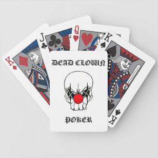 dead clown poker poker deck