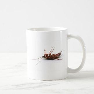 Dead cockroach coffee mug