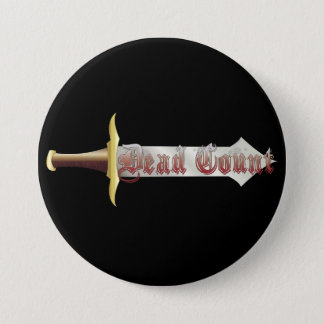 Dead Count Logo 3 Inch Round Button