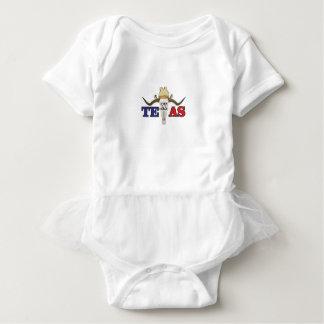 dead cowboy texas baby bodysuit