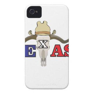 dead cowboy texas Case-Mate iPhone 4 case