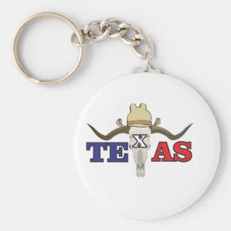 dead cowboy texas keychain