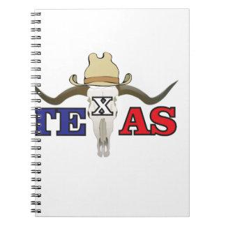 dead cowboy texas notebook
