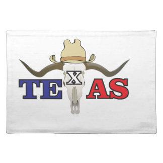 dead cowboy texas placemat
