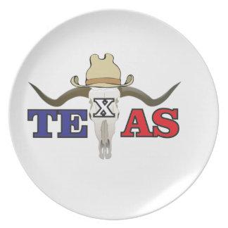 dead cowboy texas plate