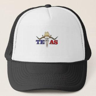 dead cowboy texas trucker hat