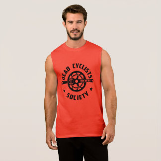 Dead Cyclists Society Logo Sleeveless Shirt