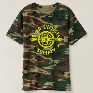 Dead Cyclists Society Yellow Logo T-shirt