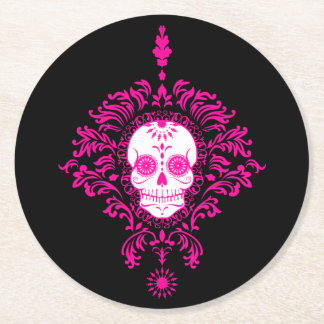 Dead Damask - Chic Sugar Skull Coasters