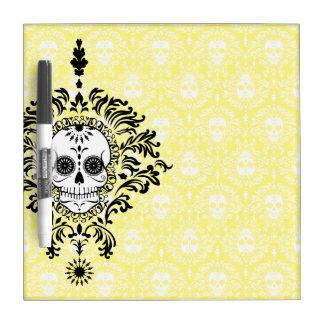 Dead Damask - Chic Sugar Skull Dry Erase Board