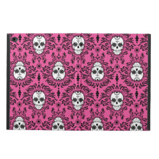 Dead Damask - Chic Sugar Skull on Damask Powis iPad Air 2 Case