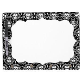 Dead Damask - Chic Sugar Skulls Dry-Erase Board