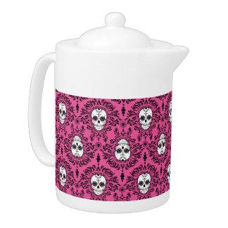 Dead Damask - Chic Sugar Skulls Teapot