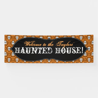 Dead Damask - Custom Halloween Banner