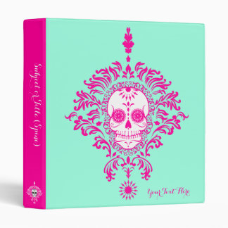 Dead Damask - Custom Sugar Skull Binder