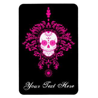 Dead Damask - Custom Sugar Skull Magnet