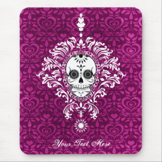 Dead Damask - Custom Sugar Skull Mousepad