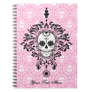 Dead Damask - Custom Sugar Skull Notebook