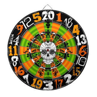 Dead Damask - Halloween Sugar Skull Dartboard