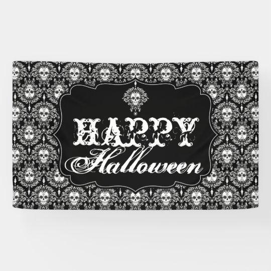 Dead Damask - Happy Halloween Banner