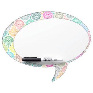 Dead Damask - Speech Bubble Message Board Dry Erase Whiteboard