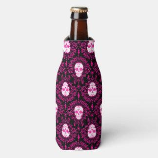 Dead Damask - Sugar Skull Pattern Bottle Cooler