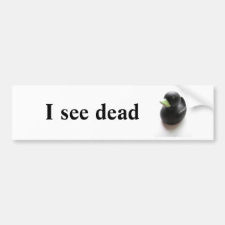 Dead Duck Bumper Sticker