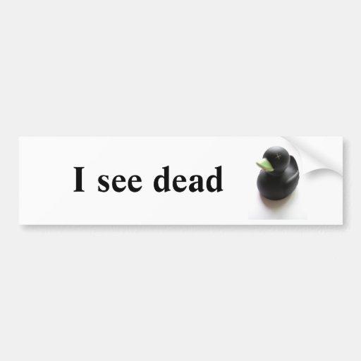 Dead Duck Bumper Stickers