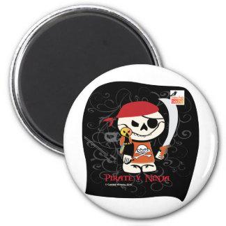 Dead Ed-Ninja v Pirate Magnets